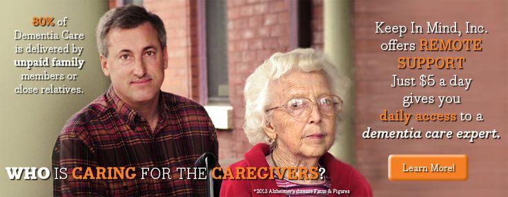 Caregiver Remote Support Dementia Alzheimer's Caregiving Holistic Approaches