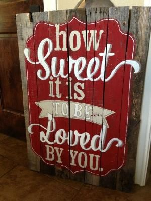 Pallet Sign by bridget