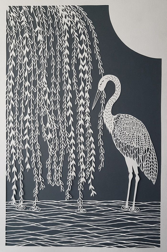 I Hand-Cut Intricate Paper Artwork Inspired By Nature And Architecture