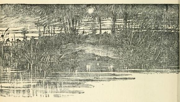 From Three Men in a Boat, illustrated by Arthur Frederics