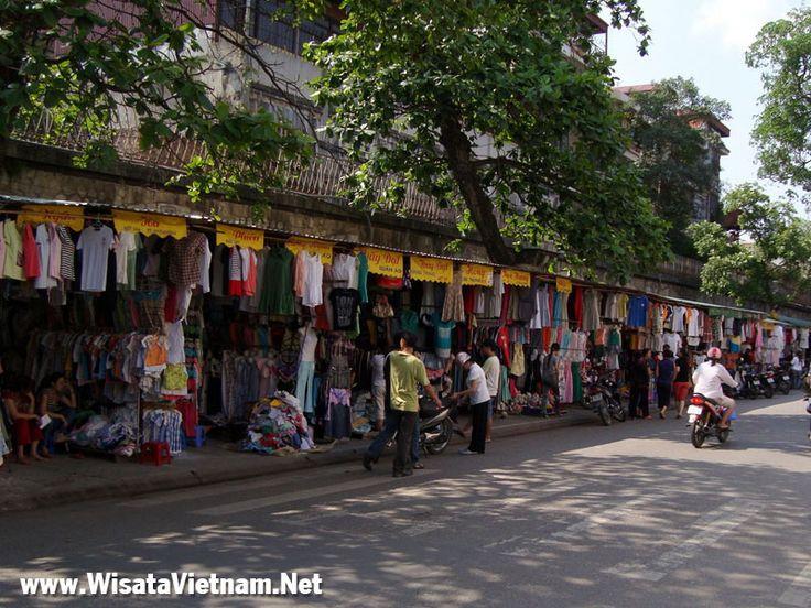 Jalan-Jalan kota Tua Hanoi, Vietnam