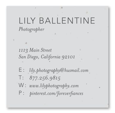 9 best plantable business cards images on pinterest business charming and simple these are a great way to network and help your business grow reheart Images
