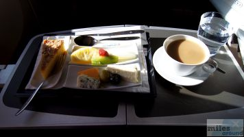 Dessert - Check more at http://www.miles-around.de/trip-reports/premium-economy/turkish-airlines-boeing-777-300er-comfort-class-istanbul-nach-los-angeles/,  #Airport #avgeek #Aviation #Boeing #ComfortClass #Flughafen #FRA #IST #LAX #LEJ #Lufthansa #Trip-Report #TurkishAirlines #USA