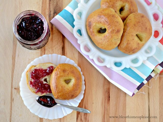 Plain Bagel Recipe - Bless This Mess
