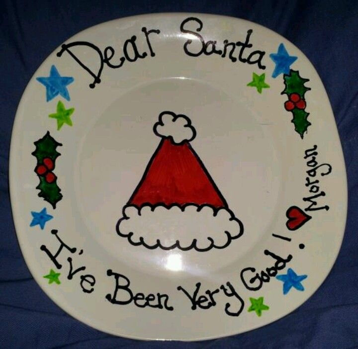 Sharpies on dollar tree plate...use little plates...would be a great present for parents from preschoolers!!