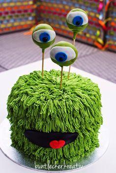 bunt.lecker.kreativ: Monster Torte aus Buttercreme...