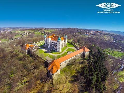 Zamek Kmitów i Lubomirskich w Wiśniczu - Visionsky pl - YouTube