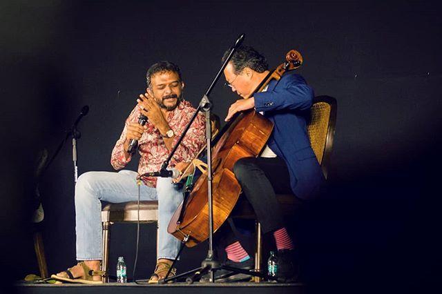 Classical Carnatic singer TM Krishna singing to the tunes of