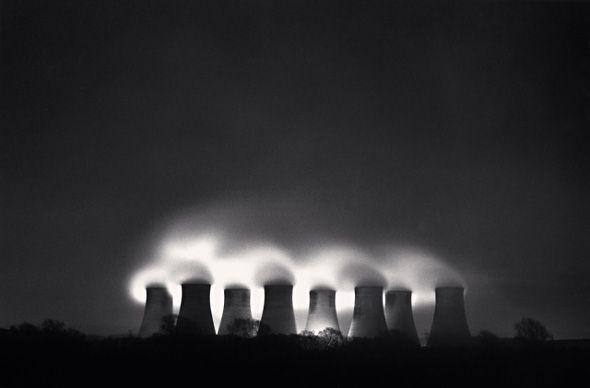 Michael Kenna: Ratcliffe Power Station, Study 50, Nottinghamshire, England, 1987 [ominous]