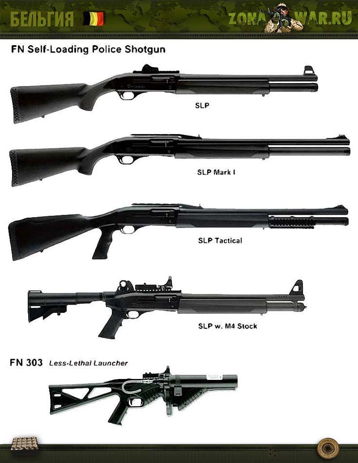 FN Self-Loading Police Shotgun