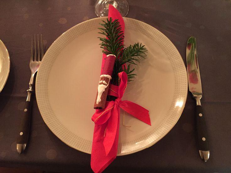 Julepynt  Borddækning