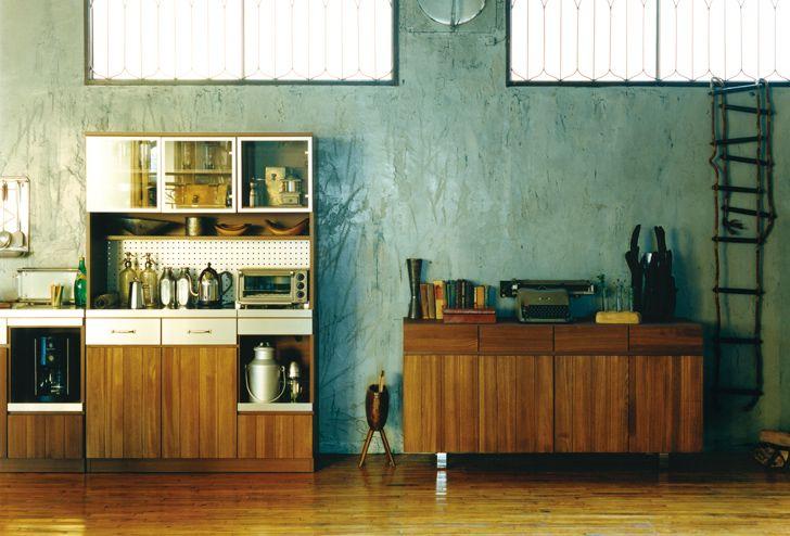 STRADA(ストラーダ) キッチンボード L/オープン | ≪unico≫オンラインショップ:家具/インテリア/ソファ/ラグ等の販売。