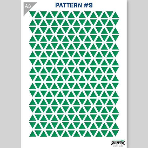 Driehoek patroon