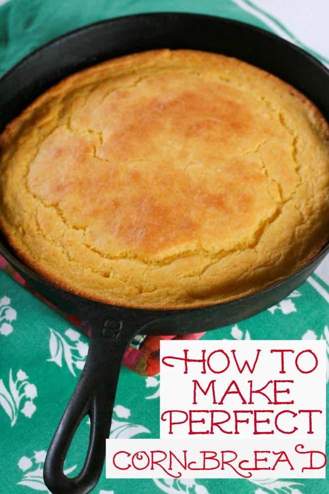 How to Make Perfect Cornbread~ Blooming on Bainbridge