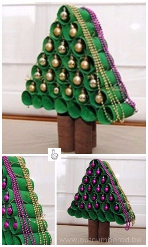 Diy Toilet Paper Roll Christmas Craft Project Tutorials Diy Toilet Paper Christmas Tree F Christmas Party Crafts Christmas Craft Projects Christmas Tree Crafts