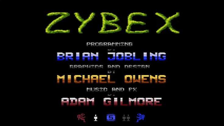 Zybex Intro atari Nostalgic Game atari 800
