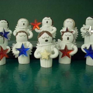 How to make Christmas Pasta Angels!