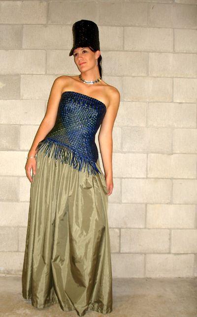 Kura Gallery Maori Fashion Design weaving Shona Tawhiao