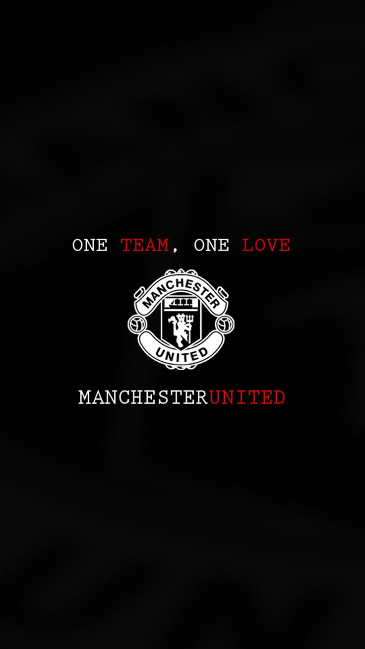 Apple iPhone 6 Plus Wallpaper in HD with – Manchester United Logo in Black and white | HD Wallpaper Download for Desktop and Gadgets - Picture Trends
