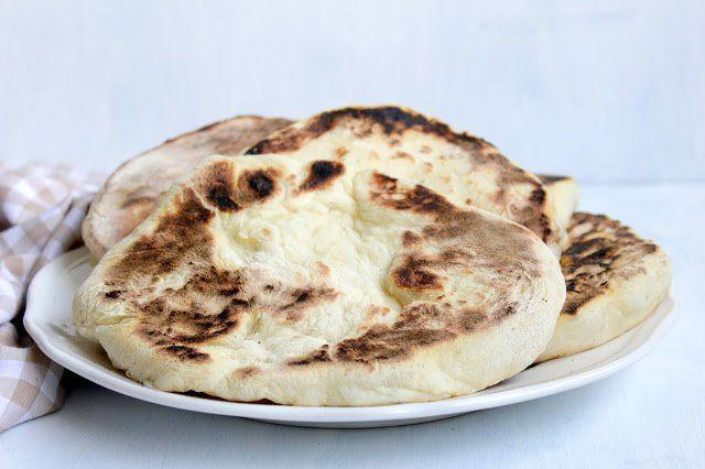 Naan Brot ♡ Pfannenbrot ♡ indisches Fladenbrot