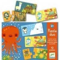 Djeco. Puzzle Dúo Escondite (38156)