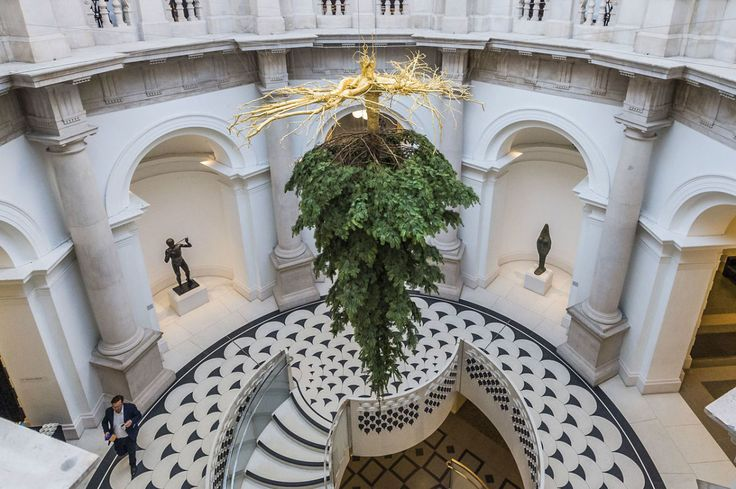 Why This Museum in London Is Hanging its Christmas Tree Upside Down