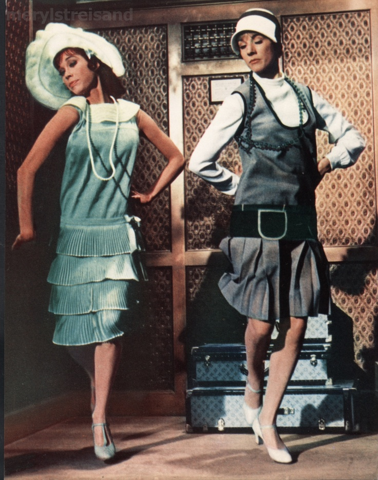 Julie Andrews and Mary Tyler Moore in Thoroughly Modern Millie!   Love this movie!  Amazingly ridiculous!