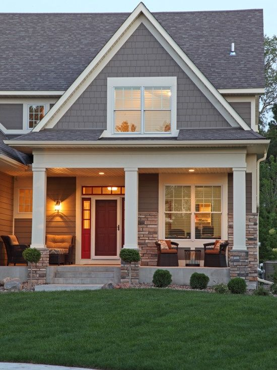 8 Best New House Exterior Images On Pinterest Brick And
