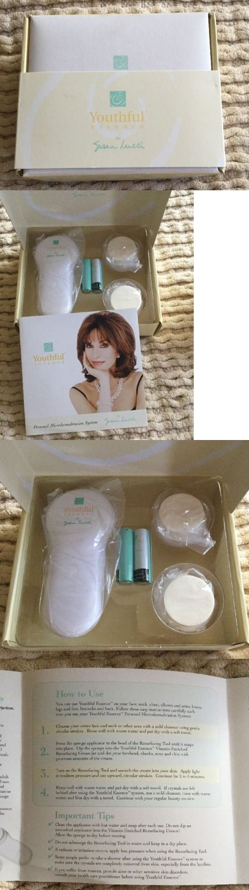 Microdermabrasion Tools: (2274) Youthful Essence By Susan Lucci Personal Microdermabrasion System New Nib -> BUY IT NOW ONLY: $45.99 on eBay!