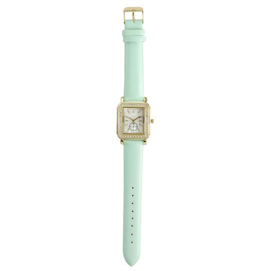 Gold, White & Mint Watch By Bead Landing