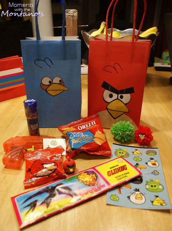 Moments with the Montano's: Angry Birds Party