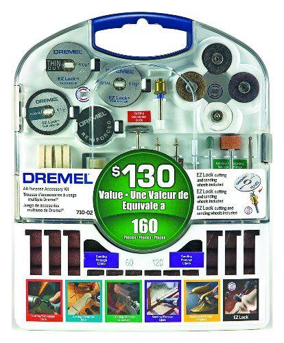 Dremel 710-05 160 Piece Accessory Kit Dremel http://smile.amazon.com/dp/B002L3RUWA/ref=cm_sw_r_pi_dp_MJ6Qtb0SSJB5AJP8