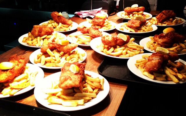 Cod and Chips anyone? Kerbisher and Malt Ealing