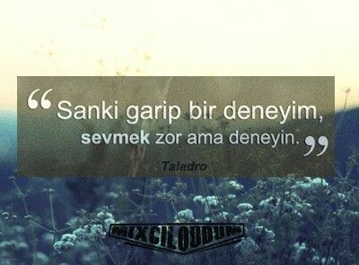 Sevmek zor ama deneyin #taladro