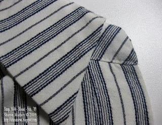 Sharon Sews: Bump Begone! or how to sew a collar with collar band and eliminate that ugly bump