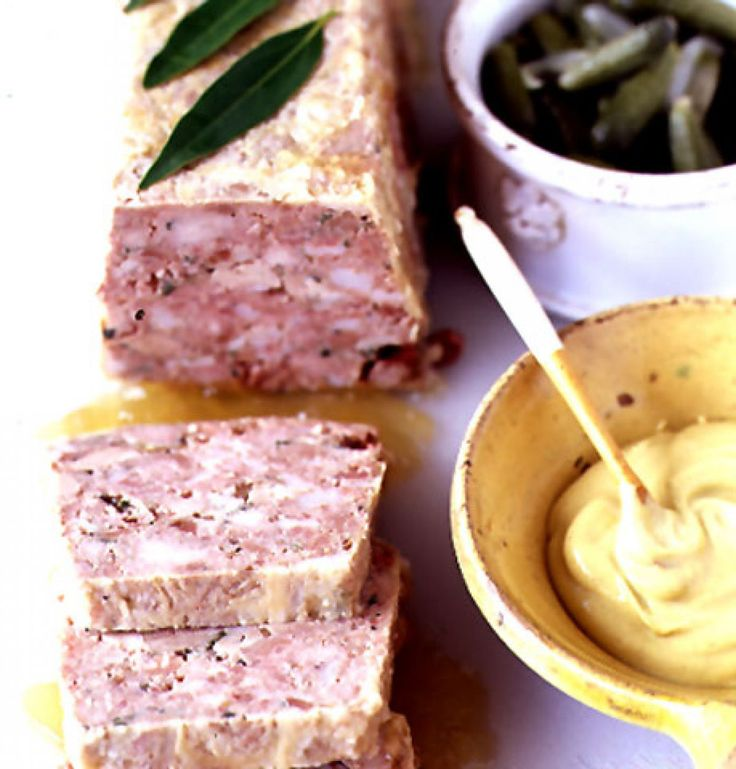 Country-Style Pâté. For LC/GF ditch bread & salt peter, they are not necessary.