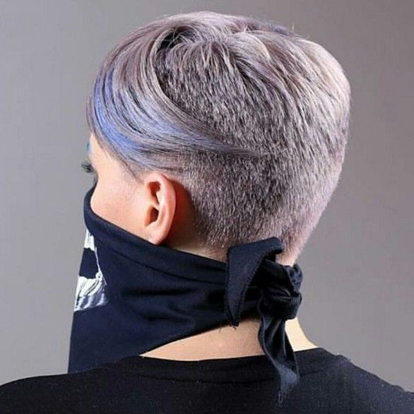 Stylish Hair Color and Cut