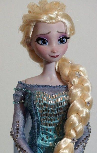 Disney Frozen dolls - Fashion Doll Repainting and Customization