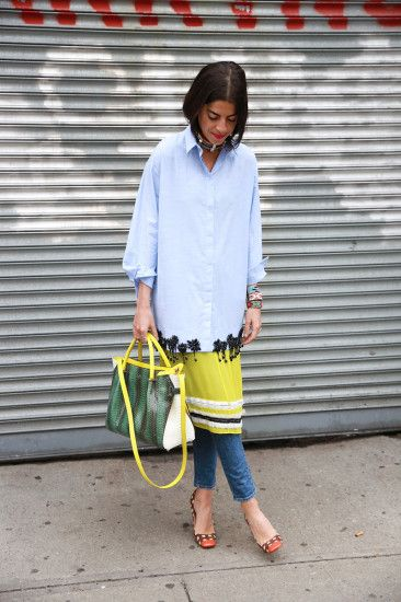 Leandra Medine manrepeller NYC Street Style 2014