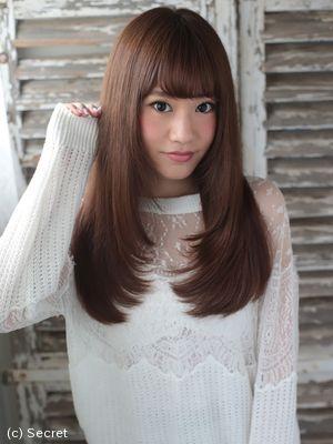 パーマをかけなくてもできる可愛い髪型とは??|表参道で人気の美容院ならSECRET