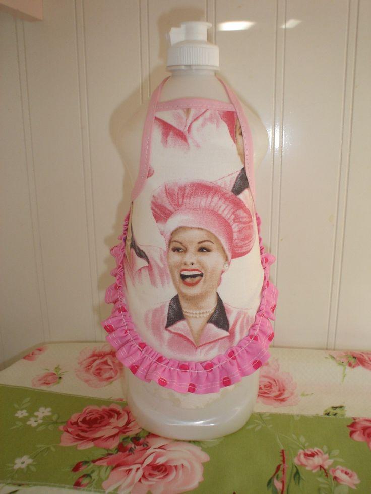 Lucy Dish Soap Bottle Apron, Etsy