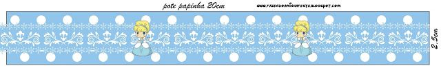 Cinderella Baby: Free Printable Candy Bar Labels.
