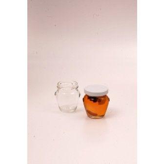 Borcan 106 ml amfora cu capac TO53