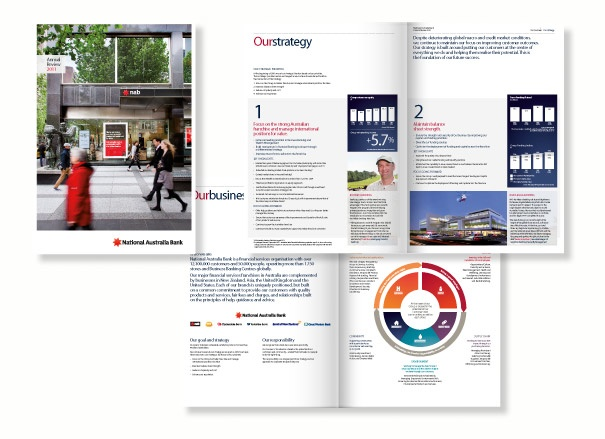 Agency: Wellmark | Client: NAB Annual Report 2011