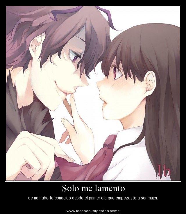 Imagenes De Amor Imagenes De Amor Con Frases De Anime