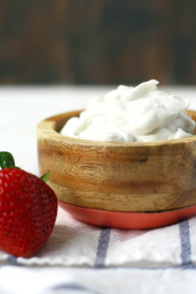 Coconut Whipped Cream Dairy Free Vegan Recipe Coconut
