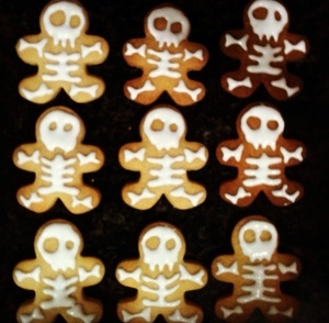 Cook Skeleton Cookies