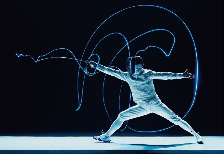 Fencing Visualised | Learn Fencing Sport Rules Creative Experience Branding Design | Award-winning Branding | D&AD