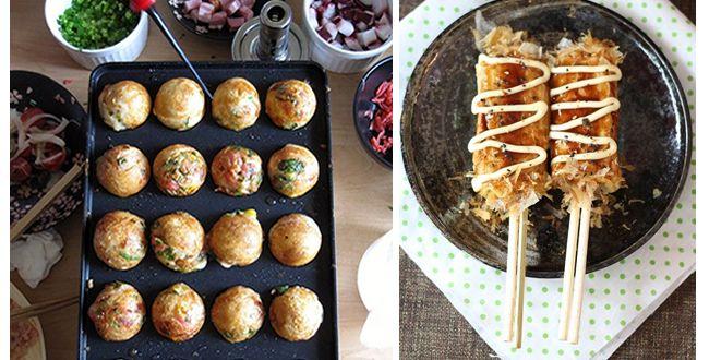 http://www.mylittle.fr/mylittlemarseille/ou-manger-des-okonomiyaki-et-des-takoyaki-a-marseille.html  Restaurant Ko Ishi 25 rue Sainte, 1er. 04 91 04 64 10 Ouvert du lundi au samedi de 11h30 à 14h30. Jeudi et vendredi de 18h à 21h. Okonomiyaki de 6.5€ à 8.5€; Takoyaki : 5.50€ les 6.