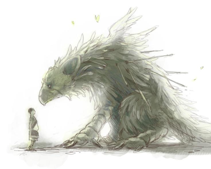 The Last Guardian ... love this illustration